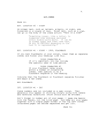 pdf house of a screenplay 28 pages the house based on a
