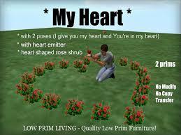 Valentine S Day Garden Decor by Second Life Marketplace My Heart Valentine Valentine U0027s Day