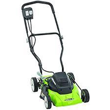 amazon com worx wg782 14 inch 24 volt cordless lawn mower with