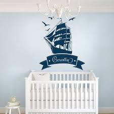 stickers étoile chambre bébé stickers bateau