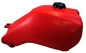 honda trx300 2x4 4x4 93 00 plastic fuel tank red quad bikes wales