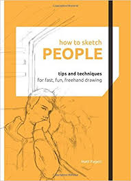 how to sketch people matthew pagett 9781845435875 amazon com