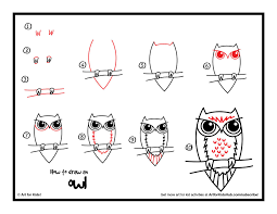 video how to draw an owl for kids local santa cruz
