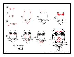 Art School Owl Meme - video how to draw an owl for kids local santa cruz