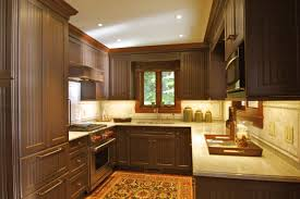kitchen wall colors with brown cabinets window treatments closet