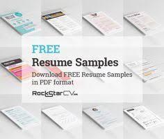 photo resume format the 25 best free resume samples ideas on pinterest free resume