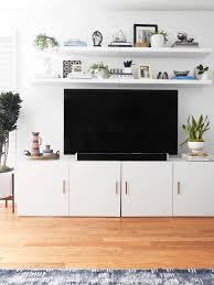 ikea lack shelf above tv u2026 pinteres u2026