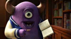 disney pixar u0027s u0027monsters university u0027 quirky college website