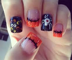 20 halloween acrylic nail art designs ideas trends u0026 stickers
