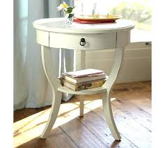 pottery barn bedside table round bedside table pedestal bedside table pottery barn in round
