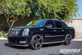 2007 cadillac escalade rims 2007 cadillac escalade with 24 heavy hitters hh15 in black milled