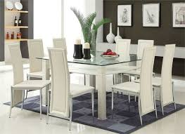 Glass Dining Room Table And Chairs Dining Room Fascinating Glass Dining Room Table Sets Stunning