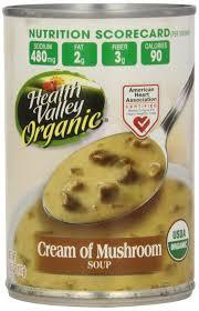 amazon com health valley organic soup cream of mushroom 14 5
