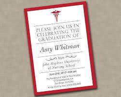 college grad invitations nursing graduation invitation medical graduation