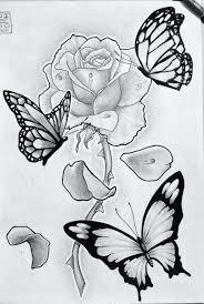 outlines butterflies color simple free digital stamp lots