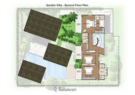 first floor plan added with terrace sit out and two toilet project saisawan phuket thailand floor plans garden villa second plan design ideas kitchen ideas decor