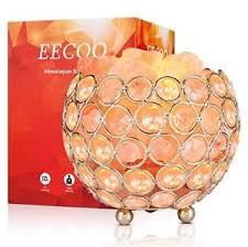 ebay himalayan salt l himalayan salt l pink crystal sea salt rock l bowl 2x15w bulbs