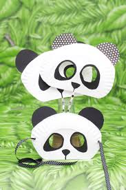 paper plate panda bear mask for kids animalcraft preschool