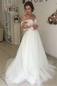 sheer long sleeve lace wedding dresses 2017 open back tulle ball