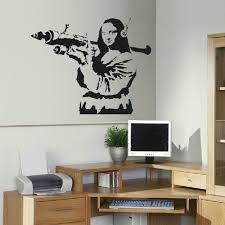 Stencil Giganti by Online Buy Wholesale Banksy Wall Stickers From China Banksy Wall