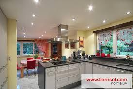 eclairage cuisine spot lighting barrisol spots