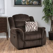 hawthorne fabric glider recliner club chair by christopher knight