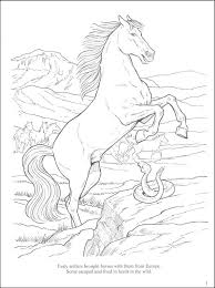 horses west coloring book 038779 details rainbow