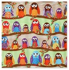 Owl Kitchen Curtains by Fabric Owl Shower Curtain Haiqal Com Shower Curtains Hooks