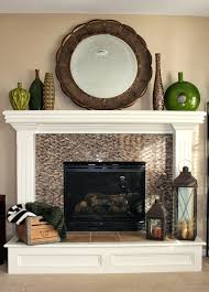 fireplace mantel shelf plans decorating ideas with mirror lowes
