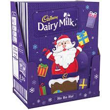 chocolate advent calendar 12 x dairy milk advent calendar christmas chocolate cadbury