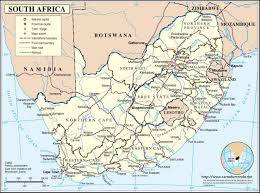 Map South Africa Map South Africa Country Map South Africa
