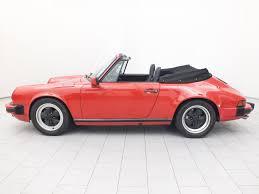 classic convertible porsche porsche 911 carrera 3 2 cabrio classicbid
