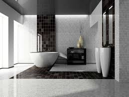 cool bathroom tiles design ideas along with compact shower space cool black and white bathroom tile design paired with round tub plus decorative vanity mirrors