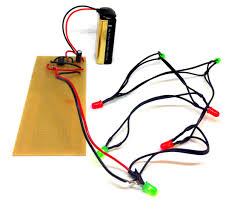blinking lights build electronic circuits