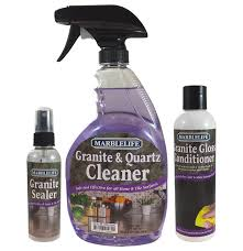 Caring For Granite Kitchen Countertops Granite Countertop Seal Clean And Care Kit By