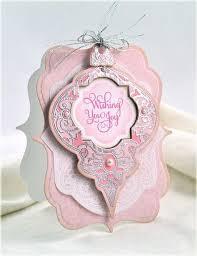 best 25 spellbinders ornaments ideas on embossed