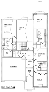 Elevation Floor Plan Richmond Lyon At Spring Meadows Robertson Homes