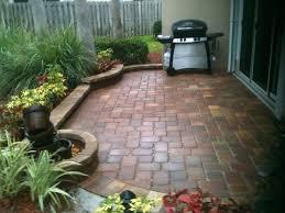 Patio Ideas For Small Backyard Small Backyards With Pavers Backyard Idea Small Backyard Ideas