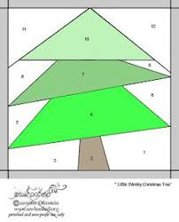 christmas trees a free foundation paper piecing pattern by under