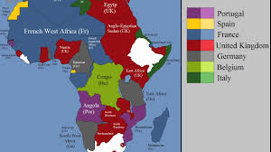 africa map before colonization european colonization of africa every year
