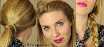 photo quick hairstyle for long hair quick and easy hairstyles for