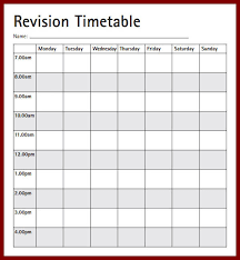 15 time table template in excel sendletters info