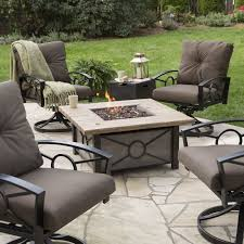 Gas Patio Table Pit Dining Set Gas Clearance Table Costco Outdoor With Patio