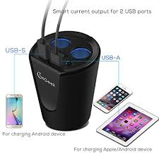 Multi Socket Car Charger With Usb Port Car Cup Charger Chgeek Usb Car Charger 12v 24v Multi Function Car