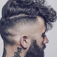 thick curly hair undercut hairstyles and haircuts for boys and men