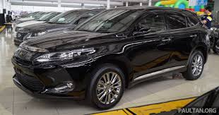 toyota lexus malaysia sale toyota harrier 2 0 premium the top spec 2 0 litre variant called