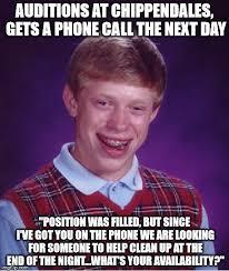 Big Phone Meme - me i work at chippendales no big deal imgflip