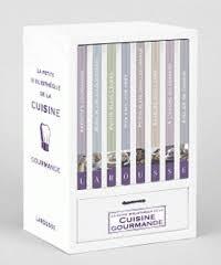coffret livre de cuisine la bibliothèque de la cuisine gourmande larousse