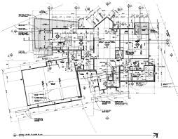 Architectural Floor Plan by Main Floor Plan U2013 Michael Grogan Architect