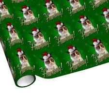 cat christmas wrapping paper bah humbug wrapping paper bah humbug christmas wrapping